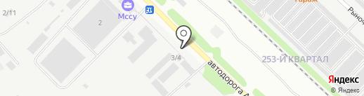 БАЗА на карте Ангарска