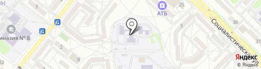 Детский сад №29 на карте Ангарска