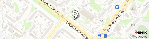Beer market на карте Ангарска