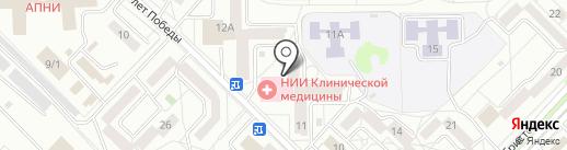 Артмаркет-38 на карте Ангарска