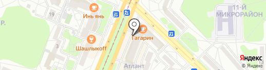 Наш помощник на карте Ангарска