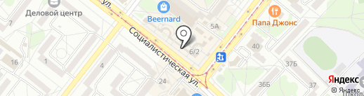Золушка на карте Ангарска