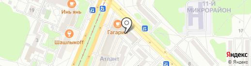 Сладкоежка на карте Ангарска