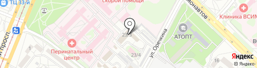 Память на карте Ангарска
