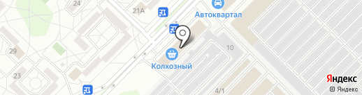 Торговая компания на карте Ангарска