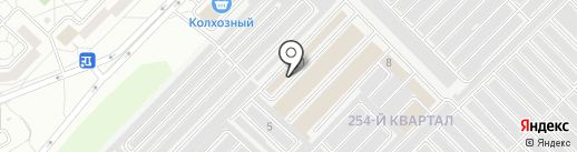 Лазис на карте Ангарска
