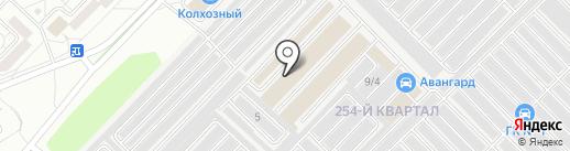 Автопокрас на карте Ангарска