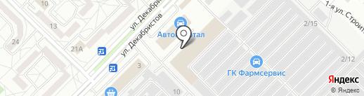 Maximum на карте Ангарска