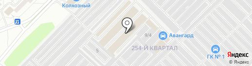 Акваскоп на карте Ангарска