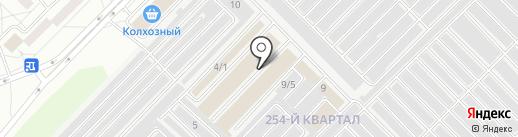 Rubber cars на карте Ангарска