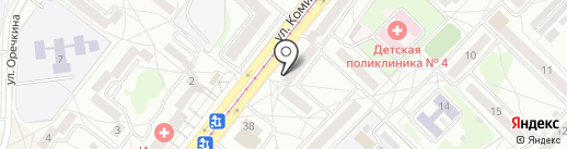 Anex Tour на карте Ангарска