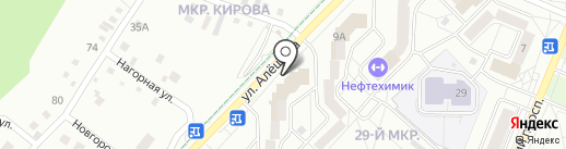 Пилигрим на карте Ангарска