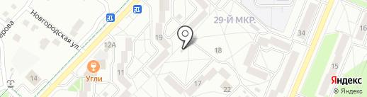 Феникс на карте Ангарска