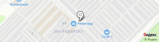 Arbay на карте Ангарска