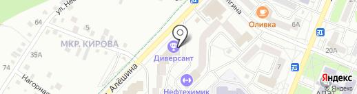Pafos на карте Ангарска