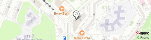 Болеро на карте Ангарска