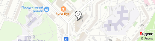 АКТИС на карте Ангарска