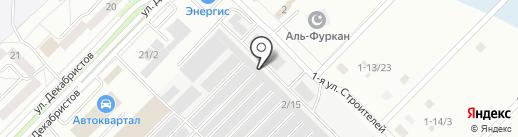 СибДача на карте Ангарска