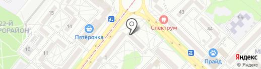 Аптека Радуга на карте Ангарска