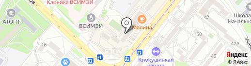 Granat на карте Ангарска