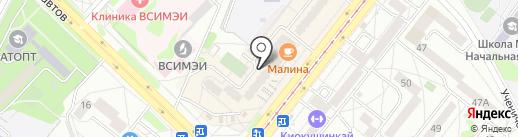 Айвити, ЗАО на карте Ангарска