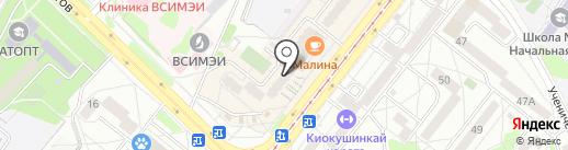 Юрист Смирнов на карте Ангарска