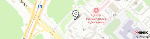 ЕвроТекс на карте Ангарска