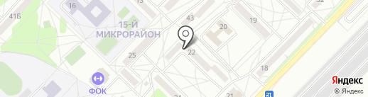 Да`Зор на карте Ангарска