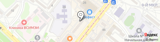 Kolcov на карте Ангарска