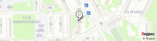 Бельгийские пекарни на карте Ангарска