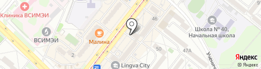 Центр коррекции зрения на карте Ангарска