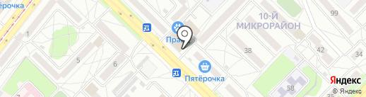 ГрандК на карте Ангарска