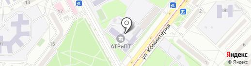Ангарский техникум рекламы и промышленных технологий на карте Ангарска