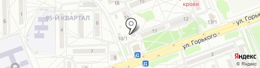 Почтовое отделение №8 на карте Ангарска