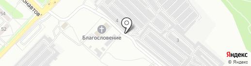 Фарт-сервис на карте Ангарска
