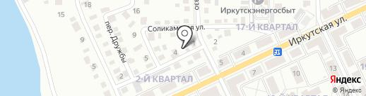 Ангара на карте Ангарска