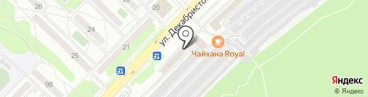 ВЕКА на карте Ангарска