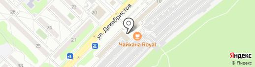 АвтоКомпас на карте Ангарска