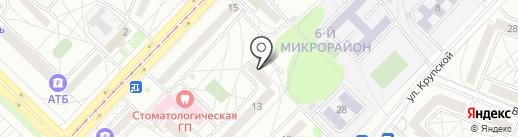 Ипотечное агентство АГО, МУП на карте Ангарска