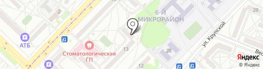 Актив на карте Ангарска