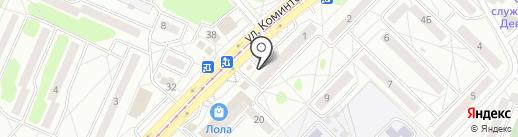 Щедрый папа на карте Ангарска