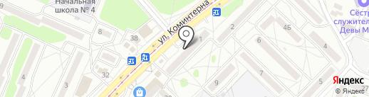 Лаванда на карте Ангарска
