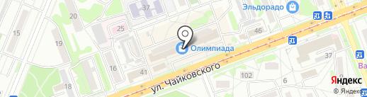 Торгово-монтажная компания на карте Ангарска