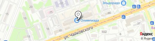 Олимпиада на карте Ангарска