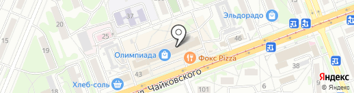 Студия С на карте Ангарска