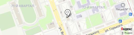 Управление архитектуры и градостроительства на карте Ангарска
