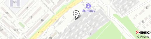 Автосервис на карте Ангарска