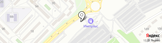 На кольце на карте Ангарска