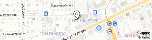 Old sity на карте Ангарска