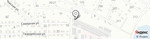 Стрижи на карте Ангарска